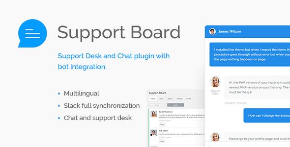 Support Board v1.2.7 - Canlı Destek Eklentisi İndir