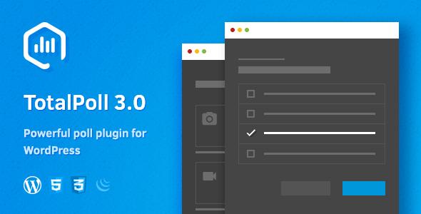 TotalPoll Pro v3.3.4 - WordPress Anket Eklentisi İndir