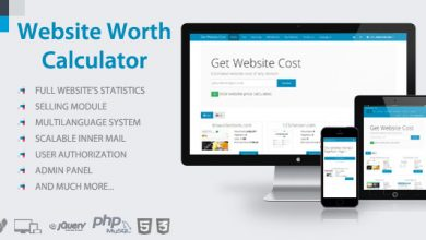 Photo of Website Worth Calculator v3.5 – Web Site Değer Hesaplama Script İndir