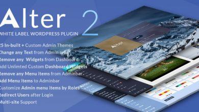 Photo of WpAlter v2.3.4 – WordPress Özelleştirme Eklentisi İndir
