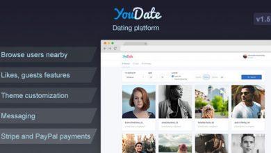 Photo of YouDate v1.5.1 – Tanışma Script İndir