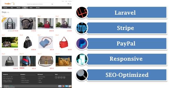 Yumefave v2.3 - Stripe & PayPal ile Online Alışveriş Script İndir