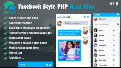 Photo of Zechat v1.5 – Facebook Stili Php Ajax Sohbet Script İndir