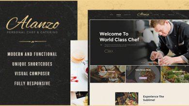 Photo of Alanzo v1.0 – WordPress Kişisel Şef ve İkram Teması İndir