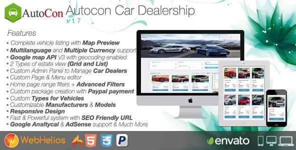 Autocon Car Dealership v1.7.0 İndir