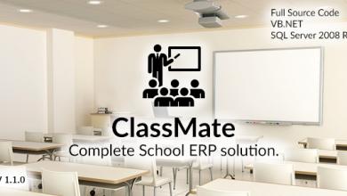 Photo of ClassMate – Komple Okul ERP Script İndir