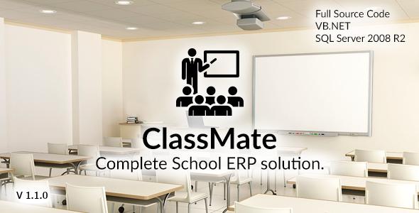 ClassMate - Komple Okul ERP Script İndir