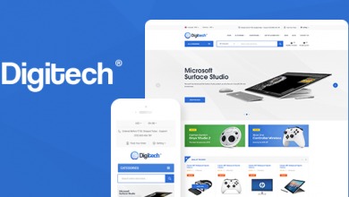 Photo of Digitech v1.0.5 – WooCommerce Teknoloji Teması İndir