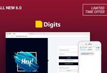 Digits v6.1.1 - WordPress Numara ile Kayıt & Giriş Eklentisi İndir