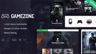 Photo of Gamezone v1.0 – WordPress Oyun Blog & Satış Teması İndir