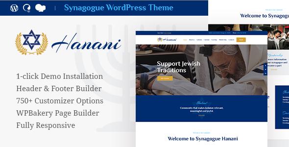 Hanani v1.0 - Yahudi Topluluğu ve Sinagogu Teması İndir