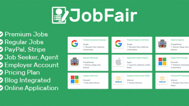 JobFair - Premium Laravel PHP İş Bulma & Arama Script İndir