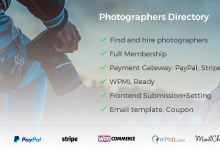 Photographer Directory v1.0.5 - WordPress Eklentisi İndir