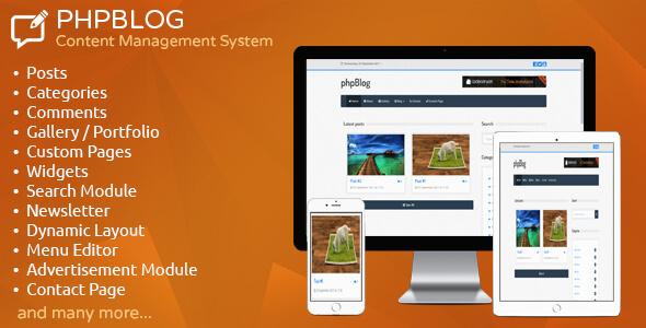 phpBlog v1.2 - Blog Yönetim Script İndir