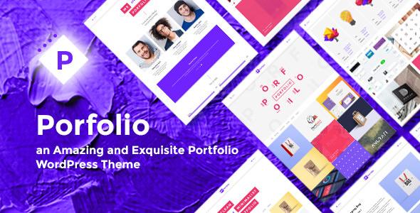 Porfolio v1.1 - WordPress Ajans ve Kişisel Portföy Teması İndir
