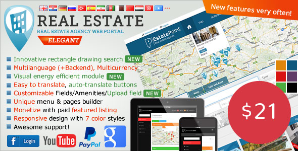 Real Estate Agency Portal v1.6.5 İndir