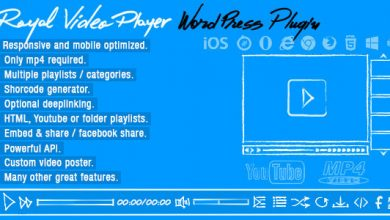 Photo of Royal Video Player v3.4 – WordPress Video Player Eklentisi İndir