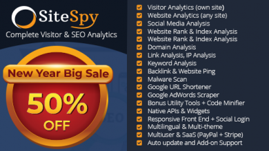 Photo of SiteSpy v5.0.1 – Site Analiz ve SEO Analiz Scripti İndir