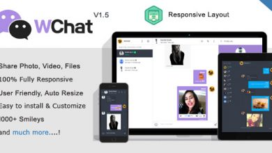 Photo of Wchat v1.6 – Responsive PHP AJAX Chat Script İndir