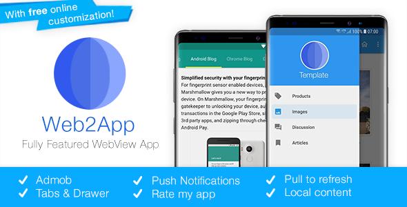 Web2App v3.3 - En Hızlı Android Webview Uygulaması İndir