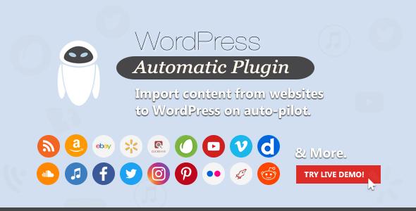 Wordpress Automatic Plugin v3.42.0 İndir
