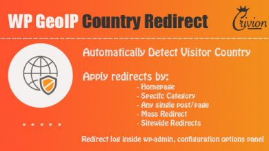 WP GeoIP Country Redirect v2.9 İndir