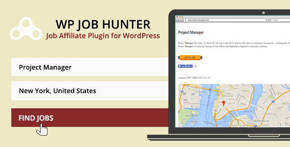 WP Job Hunter v1.9.2 - WordPress İş Kurulu Eklentisi İndir