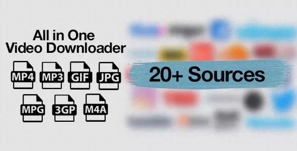 All in One Video Downloader v1.3 - Video İndirme Script İndir