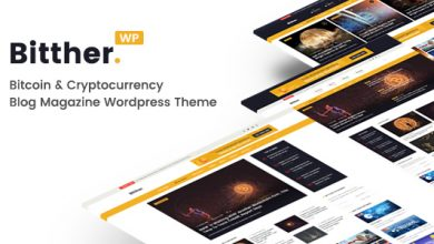 Photo of Bitther v1.0.5 – WordPress Magazin & Blog Teması İndir