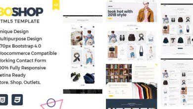 Photo of BoShop – Çok Amaçlı e-Ticaret HTML 5 Şablonu İndir