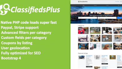 Photo of ClassifiedsPlus v1.03 – İlan CMS Script İndir