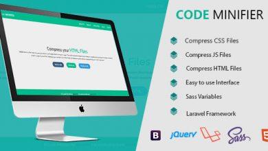 Photo of Code Minifier – CSS JS & HTML Dosya Sıkıştırma Script İndir