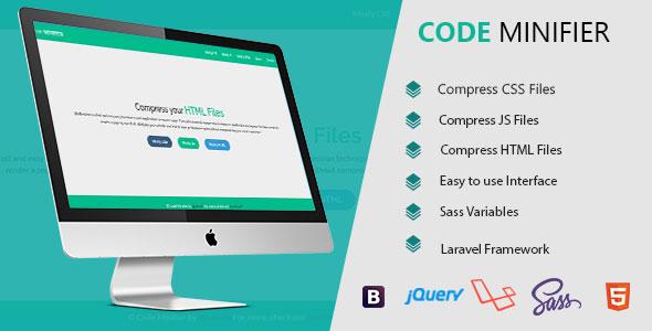 Code Minifier - CSS JS & HTML Dosya Sıkıştırma Script İndir