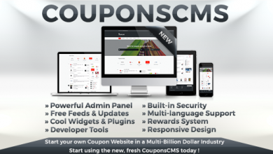 Photo of Coupons CMS v7.0 – Ücretsiz Kupon Script İndir