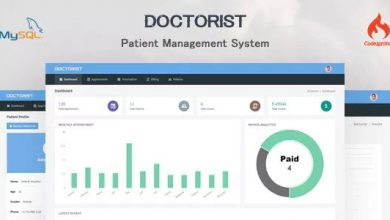 Photo of Doctorist v1.0 – Hasta Yönetim Sistemi Script İndir