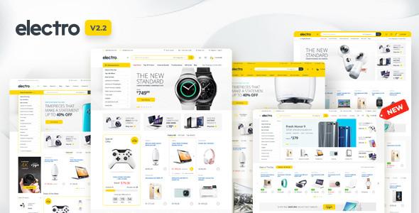 Electro v2.2.8 - WooCommerce Elektronik Ürünler Teması İndir