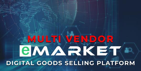 eMarket - Dijital Ürün Satış Script İndir