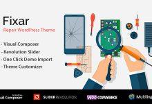 Fixar v1.2.3 - WordPress Telefon ve Bilgisayar Onarım Teması İndir