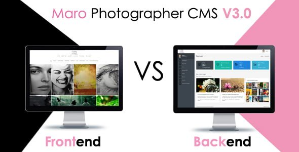 Maro Phpotographer CMS v2.2 İndir