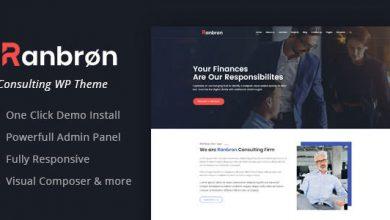 Photo of Ranbron v1.7 – WordPress İş ve Danışmanlık Teması İndir
