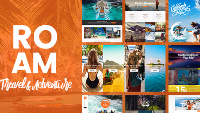 Photo of Roam v1.2 – WordPress Seyahat ve Turizm Teması İndir