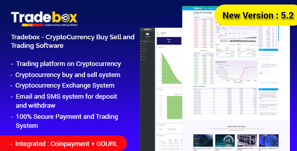 Tradebox v5.3 - CryptoCurrency Ticaret Script İndir