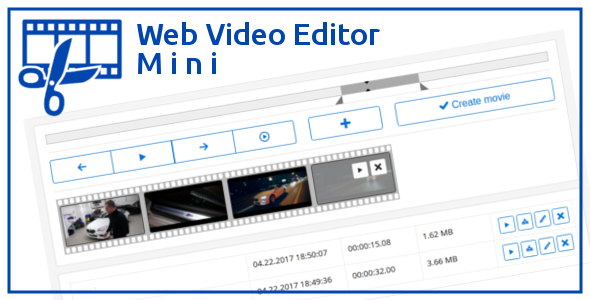 Web Video Editor Mini v1.2.1 - Video Düzenleme Script İndir