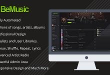 BeMusic v2.3.4 - Müzik Dinleme Script İndir