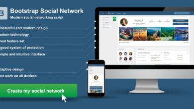 Photo of Bootstrap Social Network v2.0 İndir