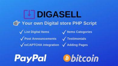 Photo of DigaSell – PHP Dijital Satış Script İndir