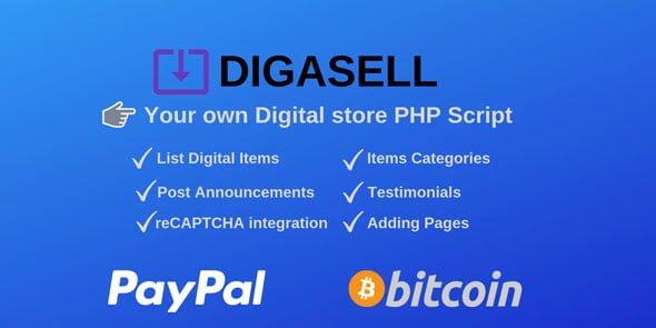 DigaSell - PHP Dijital Satış Script İndir
