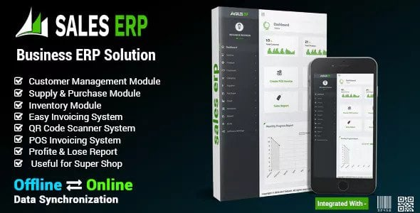 ERP v8.1.0 - Firma & İş Yönetim Script İndir