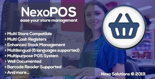NexoPOS v3.14.14 - PHP Mağaza Pos Script İndir