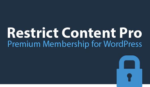 Restrict Content Pro v3.0.1 + Eklentileri İndir